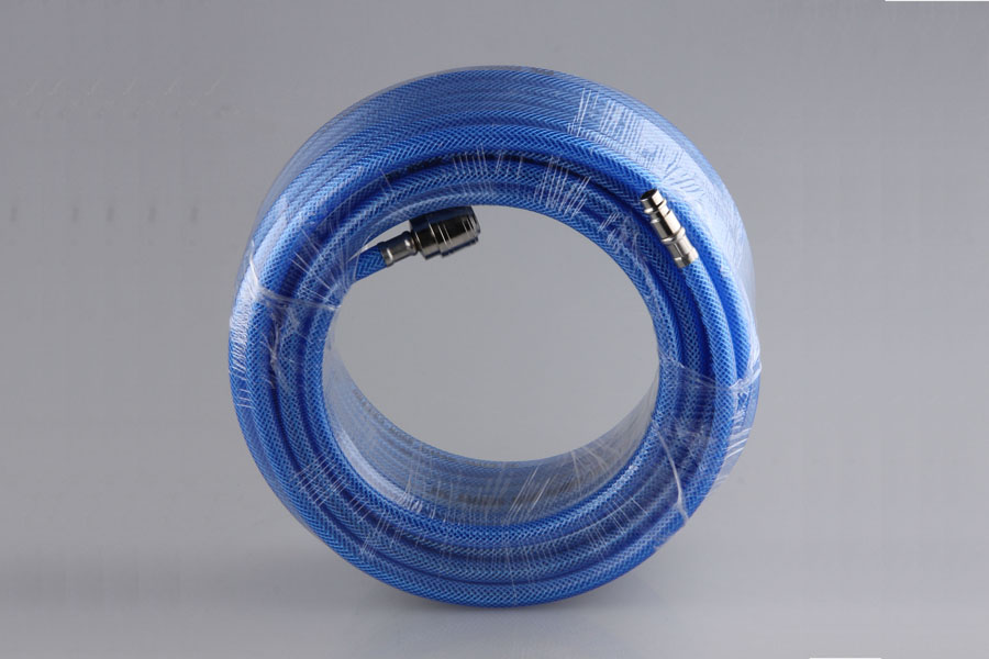 20 BAR PVC BRAIDED HOSE 6X11 MM WITH EUROPE COUPLER CE APPROVED3
