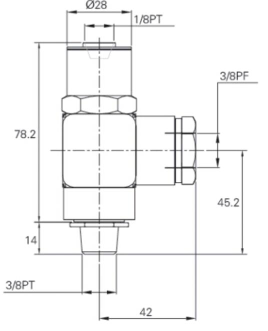 Pneumatic Pilot Check Valve PC04