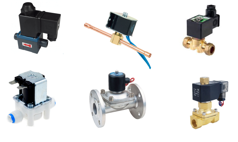 4 connection ways of solenoid valve